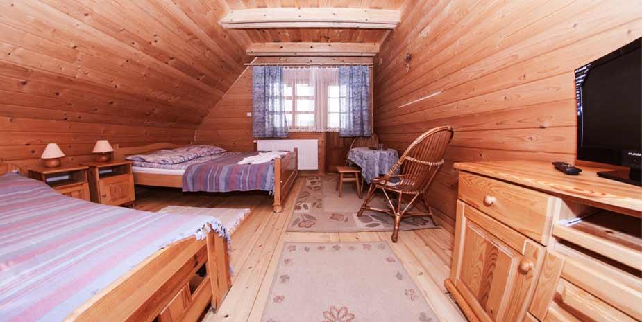 Pokój 3 osobowy w Willi Stasia