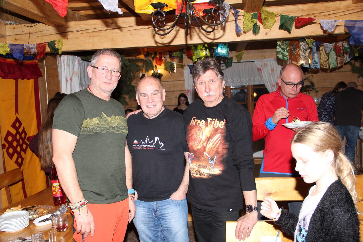 Od lewej Maciej Kałwak, Janusz Majer oraz Grzegorz Chudzik