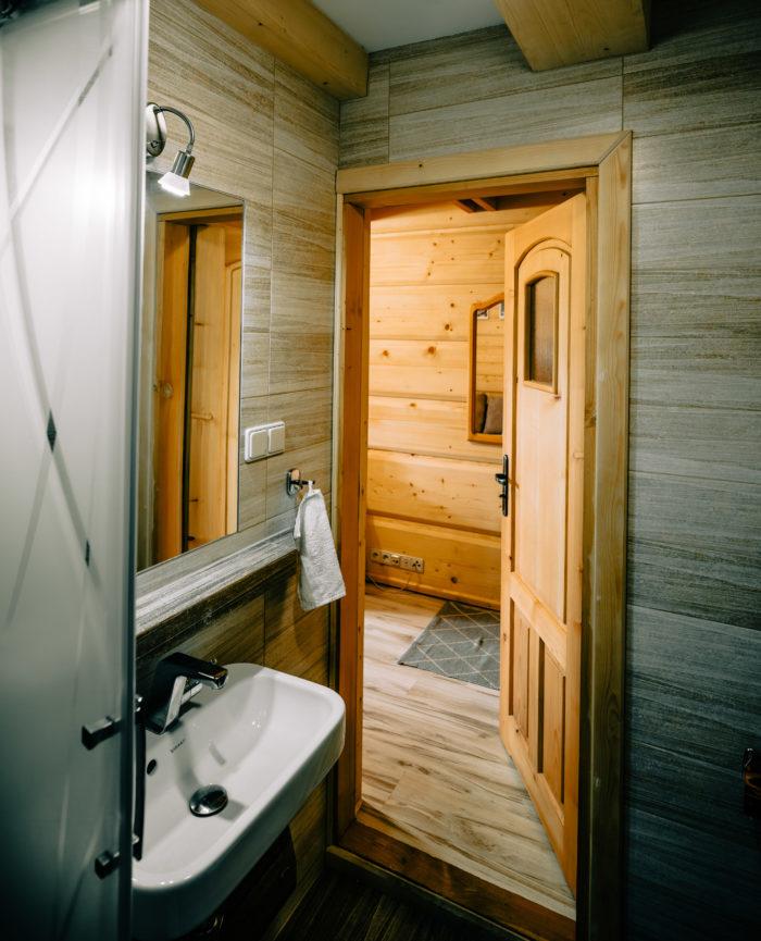 toaleta bieszczadzkiego króla