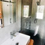 łazienka bieszczadzkiego domku