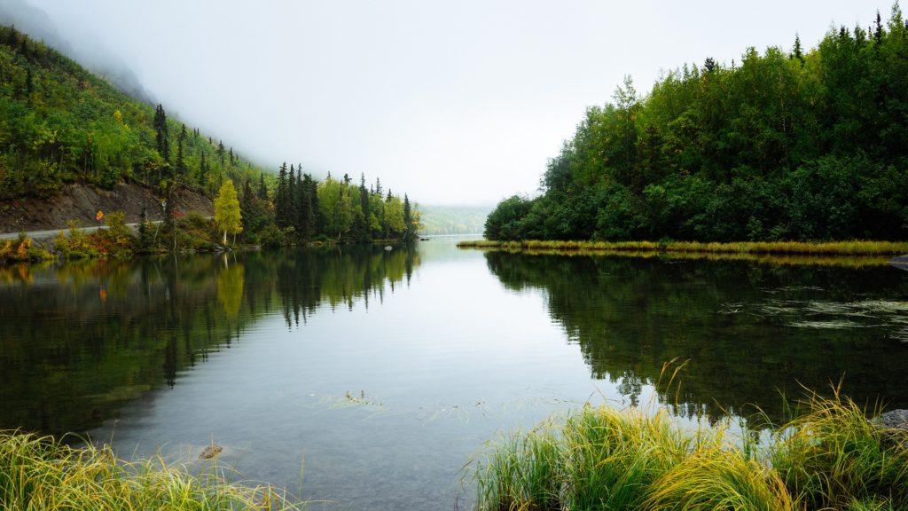 jezioro w bieszczadach