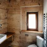toaleta bieszczadzkiego domku