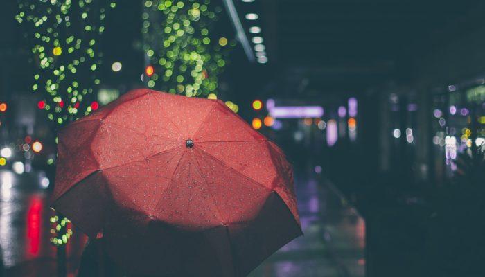 bieszczady deszcz