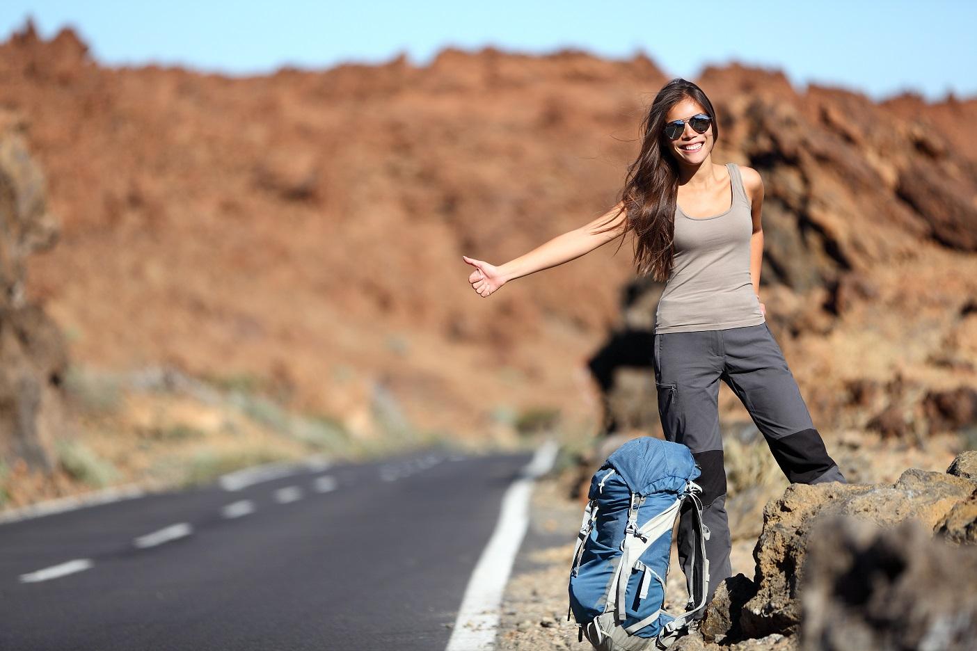 podróż autostopem w bieszczady