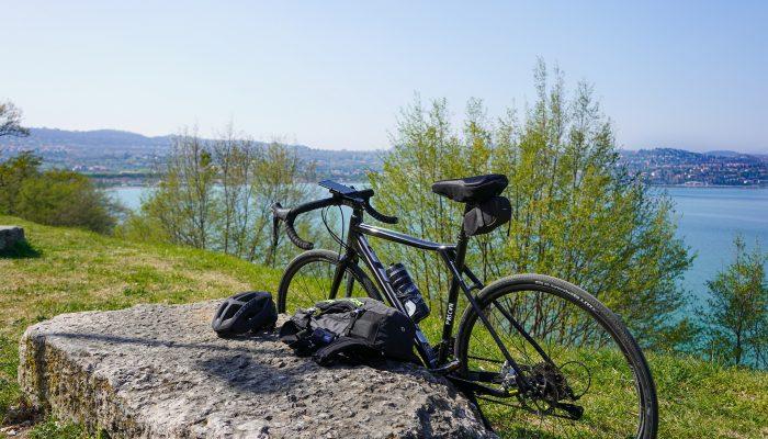rowerem dookoła jeziora solińskiego